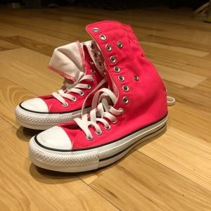 Converse all star high top sneakers.